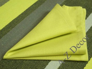 Green OASIS cotton napkins 4 pieces [AZ02114]