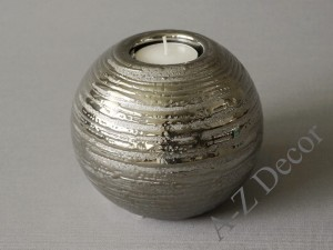 Ball T-light candle holder 12x10cm [000264]