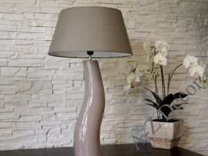Taupe CHICA table lamp 84cm [AZ01884]