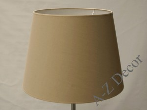 Cappuccino conical lampshade 55x40x40cm [008679]