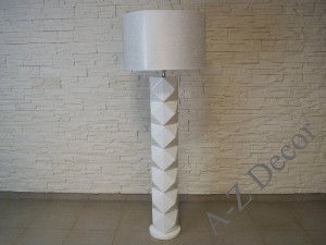 DIAMS white floor lamp 50x50x140cm [AZ02479]