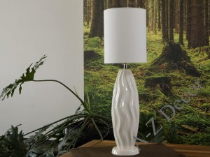 White COCOON table lamp 67cm [AZ02328]