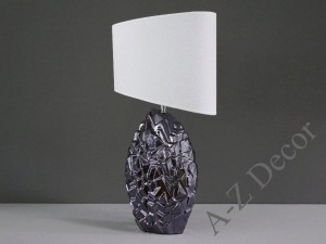 Iris brown EROCK table lamp 62cm [AZ02552]