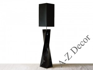 Black TWISS floor lamp 168cm [AZ02421]