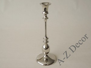 Metal candle holder 12,5x35cm [AZ01953]