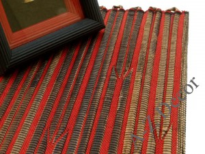 Red abaca table placemat [AZ01513]