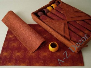 Cotton table set 19 pcs [AZ00369]