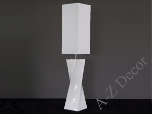 BIG TWISS floor lamp in white 25x129cm [AZ02486]