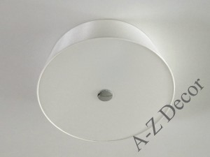 White ARTY MATE ceiling plafond with diffuser 40cm [AZ02586]