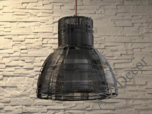 Dark gray URBAN pendant lamp 48cm [AZ02294]