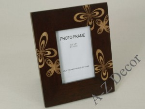 ROSETTE decorated photo frame 16x20cm [004037]