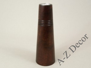 Wooden T-light candle holder 26cm [AZ01060]