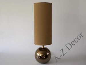 Dark gold NEVE bedroom lamp 52cm [AZ02576]