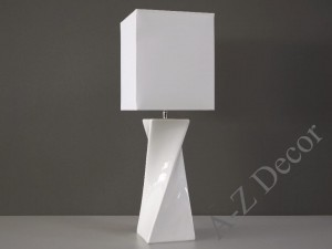 White TWISS table lamp 73cm [AZ02397]