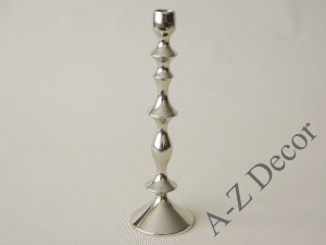 Metal candle holder 9x29,5cm [AZ01951]