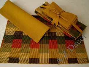 Cotton table set 8 pcs [AZ00495]