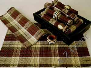 Cotton table set 19 pcs [AZ00491]