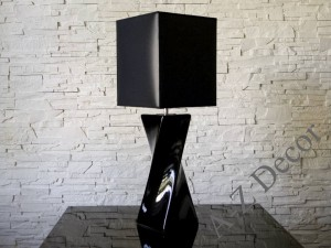 Black TWISS table lamp 73cm [AZ02564]