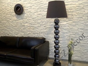 Iris brown floor lamp 170cm [AZ02026]