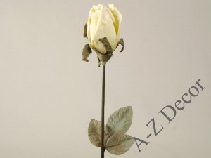 Lemon green antique rose 63cm [AZ01680]