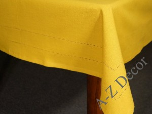 Honey big cotton tablecloth 150x300cm [AZ02128]