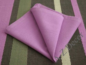 AFRICAN VIOLET cotton napkins 6 pieces [AZ02122]