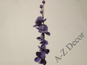 Purple artificial Phalennopsis 105cm [AZ01695]