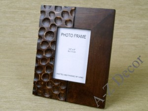 Carved RECREO photo frame 17x21cm [AZ00610]